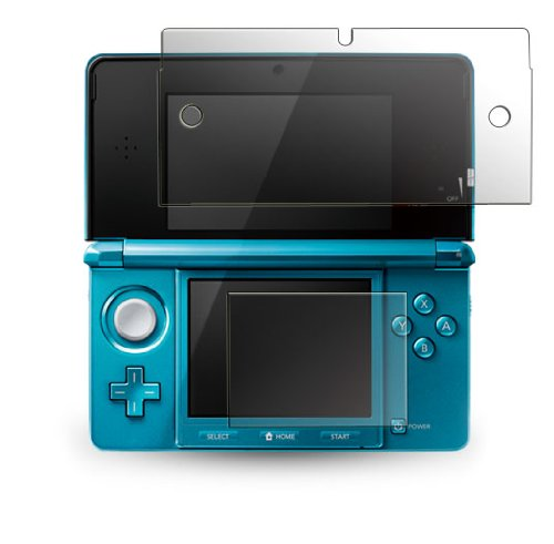 CitiGeeks® 3x Crystal Clear Premium Screen Protector for Nintendo 3DS. Invisible. Pack of 3. CitiGeeks Retail Package.