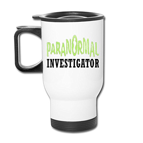 Paranormal InvestigatorUnisex Cute Mom And Kid Elephant Casual Coffee Thermos Custom Travel Blank Mug by Achunlan