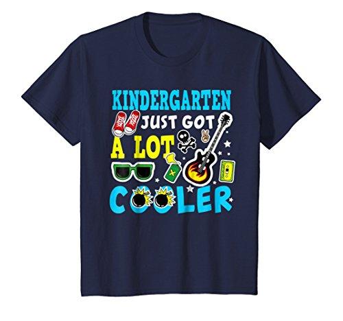Kids Kindergarten T-shirt Kindergarten Just got a lot Cooler 6 Navy
