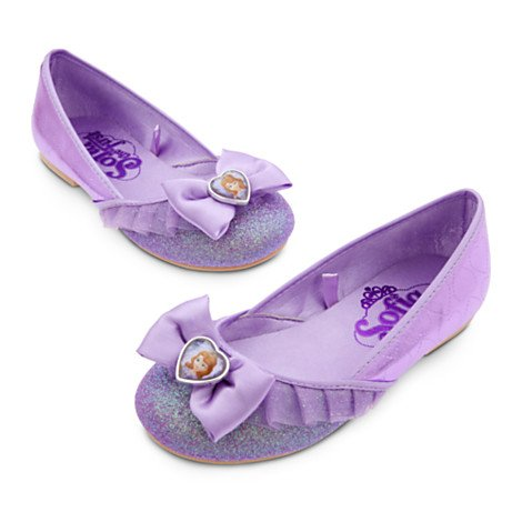 [Disney Sofia the First Shoes for Girls Size (5/6)] (Sofia The First Dress Up Costume)