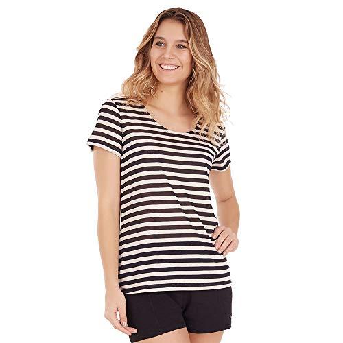 Camiseta Amarração - Preto - Tamanho P