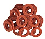 CandyHome 30 Pack Garden Hose Washers, Rubber Hose Washers Stop Leaking Garden Hoses & Faucets