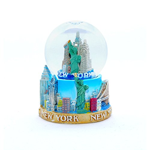 New York City Mini NY NYC Snow Globe Souvenir 2.5