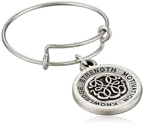 Alex and Ani Path of Life II Expandable Rafaelian Silver Stackable Ring, Size 7-9