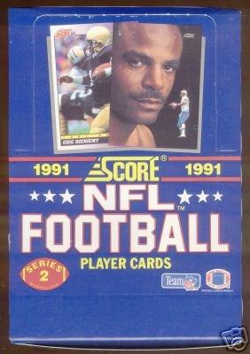 1991 Score Football Cards Unopened Hobby Box Series 2 - Brett Favre Rookie Year