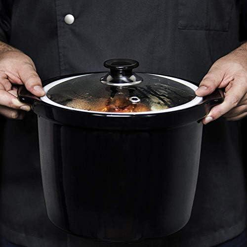 Cubeta de cerámica para cocciones lentas y a baja temperatura con ...