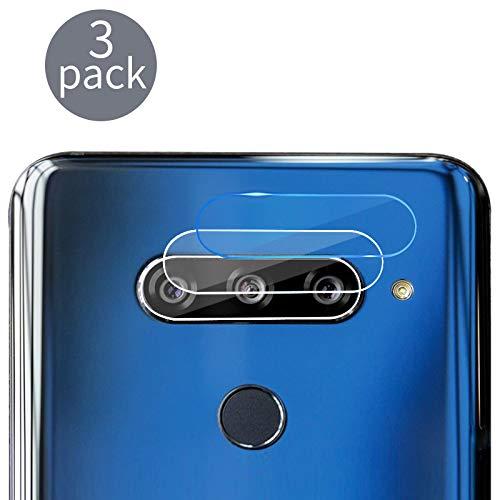 Casetego Compatible LG V40 Camera Lens Protector, [3 Pack] Thin Transparent Clear Camera Tempered Glass Protector, High Definition Protector for LG V40,Clear