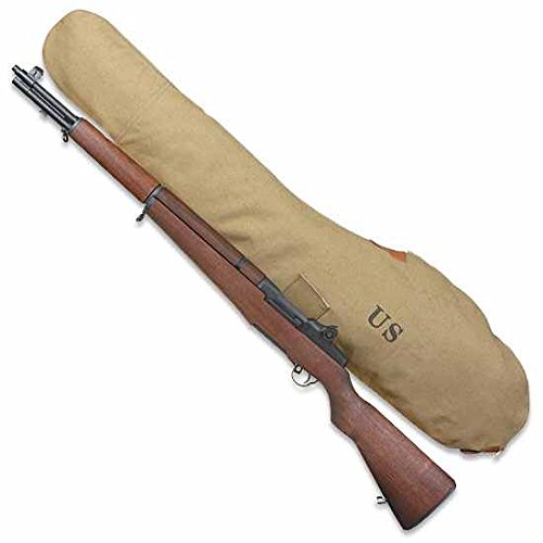Ultimate Arms Gear M1 M-1 Garand Rifle U.S. Military Marked WWII Reproduction Khaki Tan Canvas 45