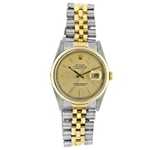 Rolex Datejust automatic-self-wind mens Watch 16233CTSJ (Certified Pre-owned)