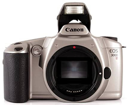 amazon com canon eos 3000n slr camera 35mm body only slr rh amazon com Canon EOS M3 Canon EOS 6D