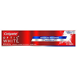 upc 035000763792 product image for Colg Optic White Tp Icy F Size 5z Colgate Optic White Toothpaste Icy Fresh 5z | barcodespider.com