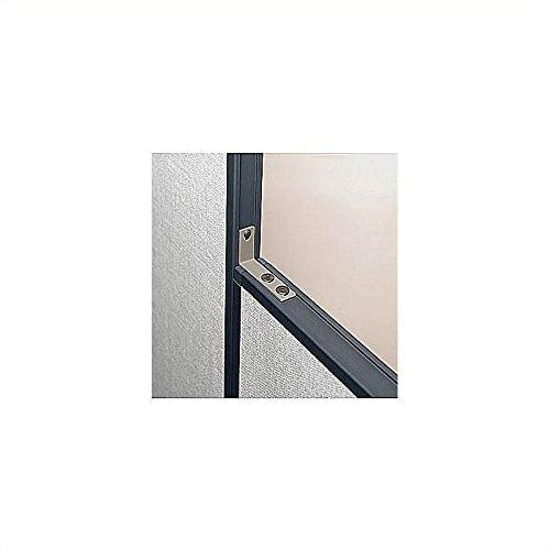 Pro Panels Slate Hi -Low Connector Kit (Bush Furniture Kit Slate Office)