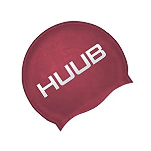 Huub Swimming Cap Triathlon Ironman Racing Swim Hat 100% Silicone Lightweight