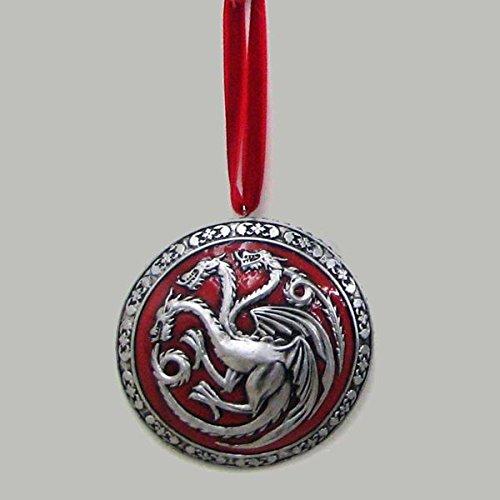 Game of Thrones House Targaryen Resin Disc Ornament