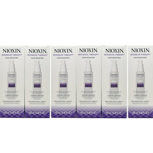Nioxin Intensive Therapy Hair Booster 100 Ml/ 3.38 Fl. Oz. For Thin-looking Hair ''Pack of 6'' by Nioxin