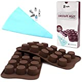 Best Silicone Mold For Candy Chocolates - Silicone Chocolate Molds for Baking Candy - Non-stick Review