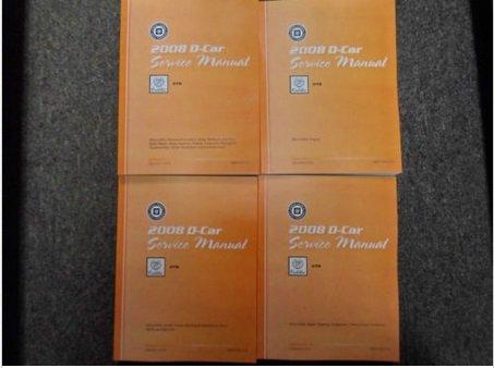 2008 CADILLAC CTS C T S Service Shop Repair Manual Set FACTORY BOOKS 08 NEW