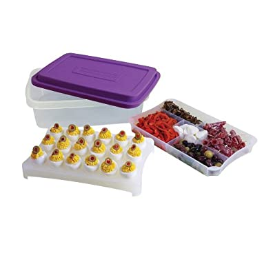 Rachael Ray FoodTastic Party Box, 6.8-Liter, Purple