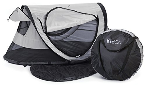 KidCo Peapod Plus Portable Bed with Bonus Gate Check Bag, Midnight by KidCo