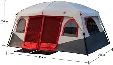 Stal Outdoor Camping Waterdichte Tent, Four Seasons Familie Camping en Winter Cotton Canvas Shelter 430 * 305 * 203 cm, eenvoudig te installeren Draagbaar