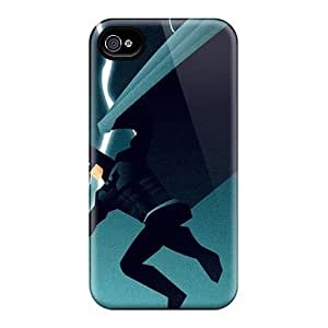Fashion Design Hard Case Cover/ MchPPRG8457rgbQq Protector For Iphone 4/4s