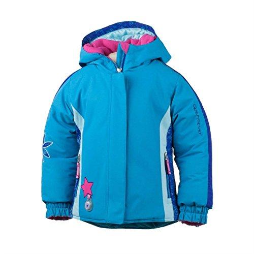 Obermeyer Kids Girl's Pico Jacket (Toddler/Little Kids/Big Kids) Bluebird Outerwear 2T Toddler by Obermeyer