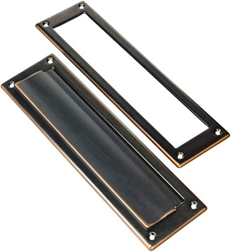 Gibraltar Mailboxes MS00RC03 Mail Slot, Rubbed Bronze