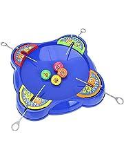 Blow Gyro Toy, Burst Gyro Arena Disk Set Spännande Duel Spinning Top Dreidel Toy Gift för barn