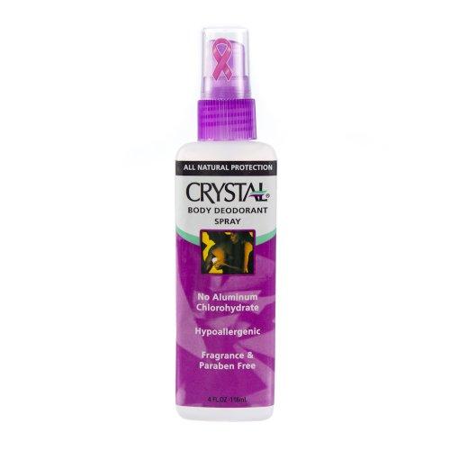 Crystal Body Deodorant Spray 4 oz Crystal Body