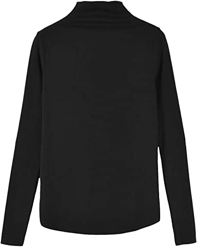 Camiseta Mujer Primavera Moda Manga Larga Impresión Blusa ...