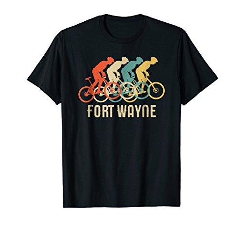 Retro Vintage Bike Fort Wayne Indiana T Shirt
