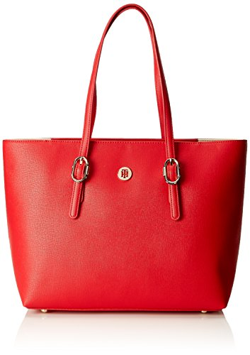 Tote Red Tommy Buckle Hilfiger Th Rosso Spalla Borse A Tommy Donna qqSaTO