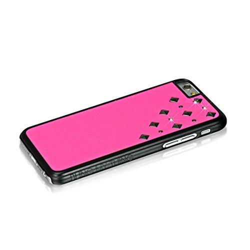 blingmything Métal iQue Meteor Shower Coque de protection pour Apple iPhone 6rose