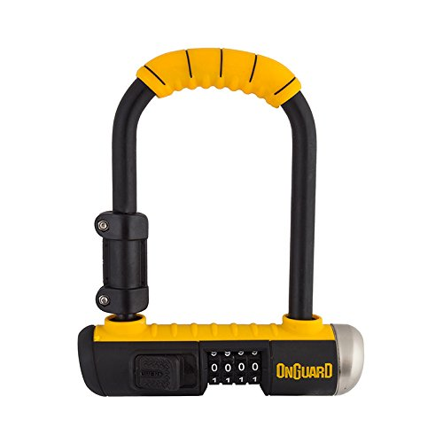 Onguard Bulldog Mini Combo Lock - yellow, one size