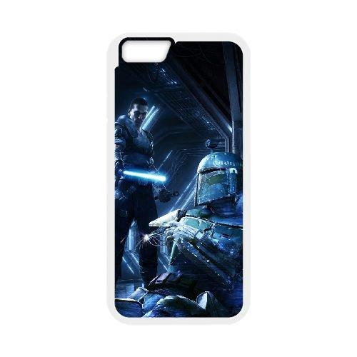 Star Wars The Force Unleashed 2 2 coque iPhone 6 4.7 Inch cellulaire cas coque de téléphone cas blanche couverture de téléphone portable EEECBCAAN00081