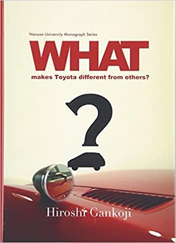 what makes toyota different from others nanzan university