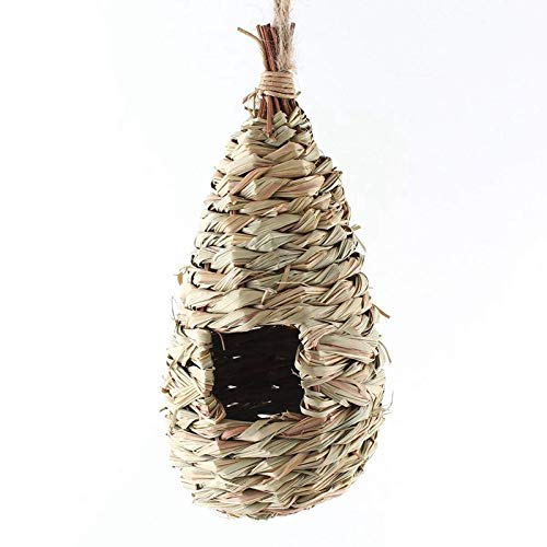 Other Bird & Wildlife Accs Brown Esschert Design Nkbs 26 X 15 X 10cm Wood Seagrass Nesting Bag