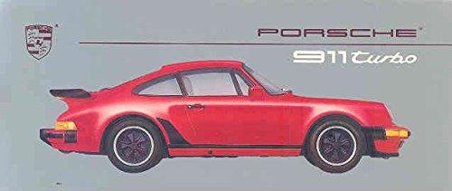 1986 1987 Porsche 911 930 Turbo Small Brochure