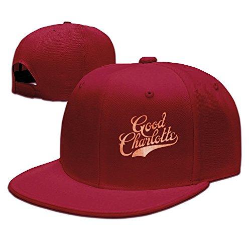 LALayton Unisex Good Charlotte Adjustable Fashion Cotton Baseball Cap - Red