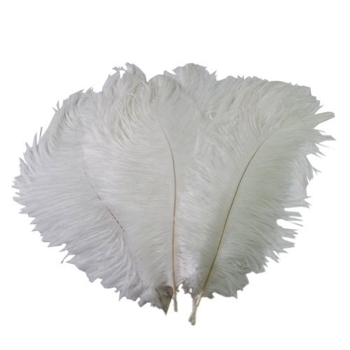 Wowlife Set of 50, 15-20cm Real Natural White