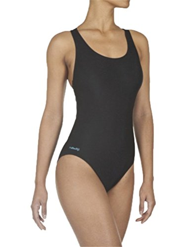 DECATHLON Shaping Body One-Piece Swimsuit(BLACK M)