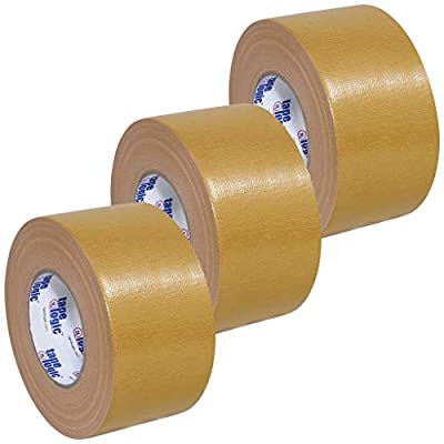 "Tape Logic T988100BE3PK Beige Duct Tape, 10.0 mil, 3"" x 60 yd (Pack of 3) from Tape Logic"