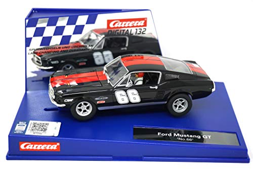 (Carrera 30792 Digital 132 Slot Car Racing Vehicle - Ford Mustang GT No.66 - (1:32 Scale) )