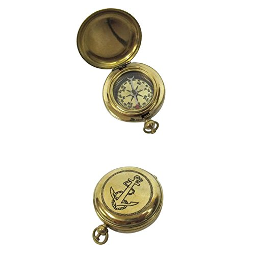 Solid Brass Dalvey Compass Anchor Design Outdoor Camping Gear by Armor Venue