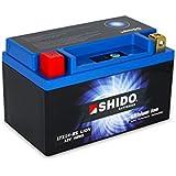 SHIDO LTX14-BS LION -S- Batterie Moto Lithium Ion