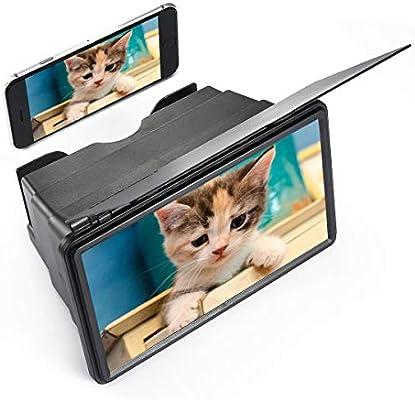 Volwco - Lupa de 12 Pulgadas para Smartphone, teléfono móvil ...