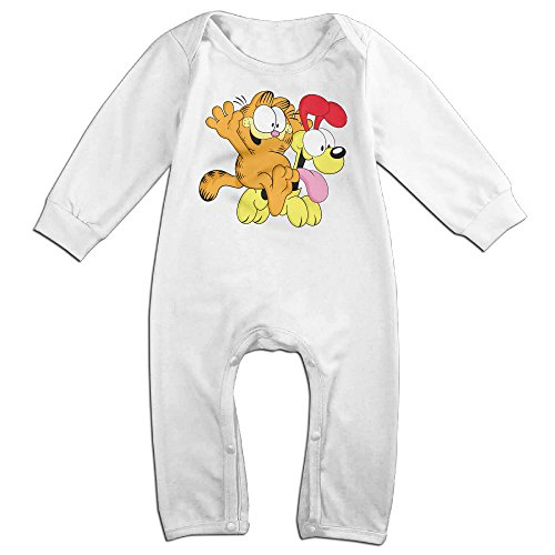 Ahey Boy's & Girl's Garfield And Odie Long Sleeve Climbing Clothes 6 M