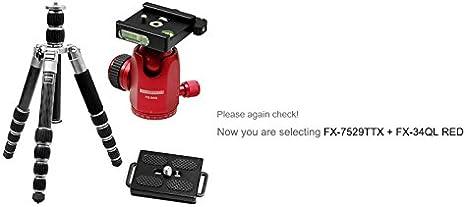 D-SLR RF Mirrorless Camera Tripod FX-7529TTX 44 5 Section Trans Monopod 9X HORUSBENNU Traveler Carbon Fiber
