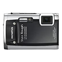 Olympus Stylus Tough 6020 14MP Digital Camera with 5x Wide Angle Zoom and 2.7 inch LCD (Black)