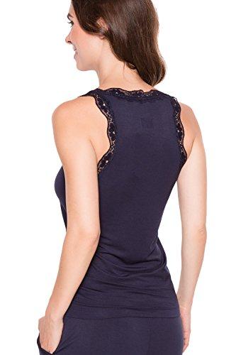 Jockey - Camiseta sin mangas - Estibador - para mujer Dark iris